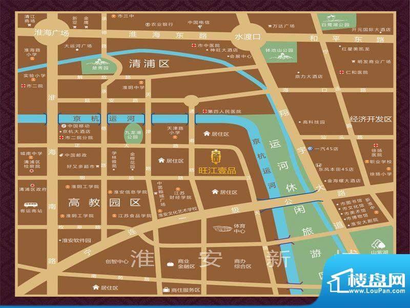 旺江壹品交通图