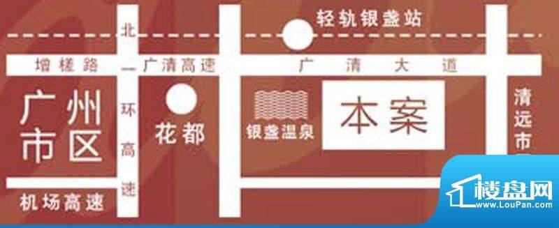 新都广场交通图