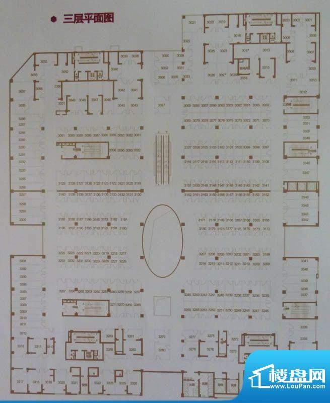 中环国际广场三层平面积:0.00平米