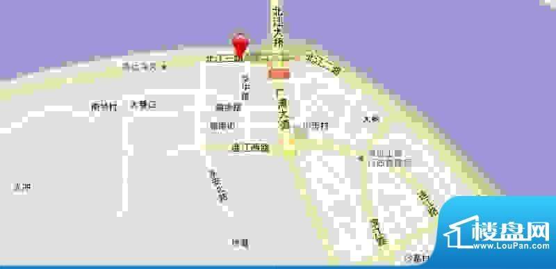 中裕金鑫花园交通图