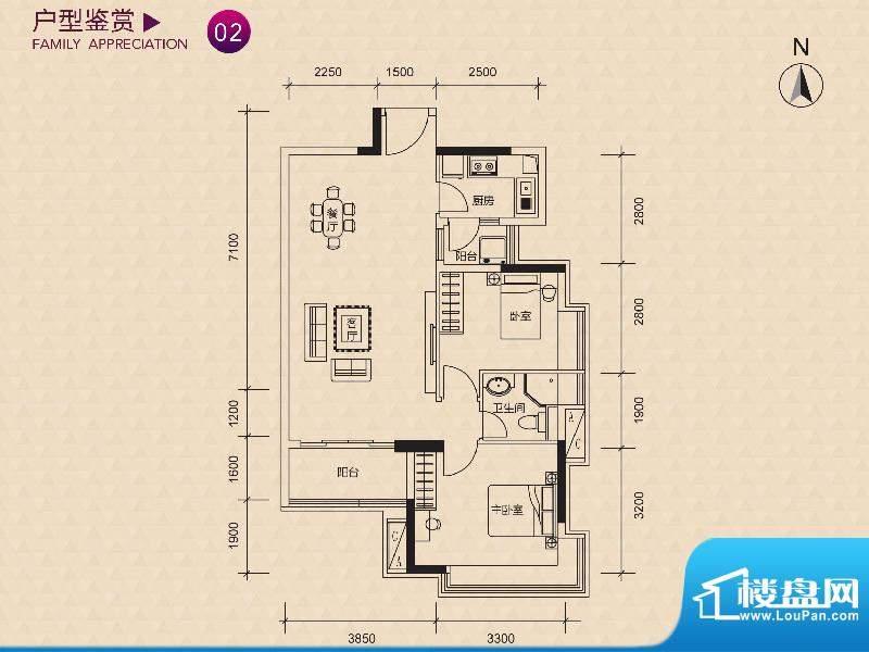 新世纪广场A/B/C/D/面积:79.00m平米