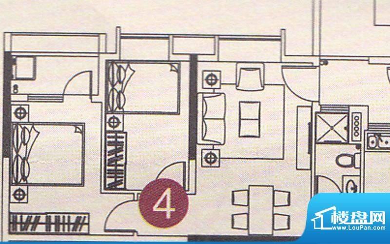 北部万科城二期B37-面积:69.00m平米