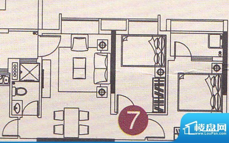 北部万科城二期B37-面积:6900.00m平米