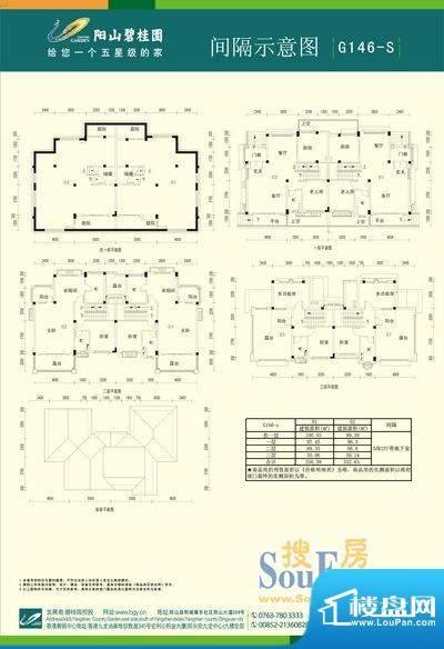 阳山碧桂园双拼G146面积:0.00m平米