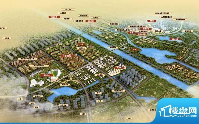 中南世纪城效果图
