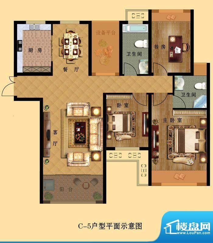 中南世纪城C-5 3室2面积:0.00平米