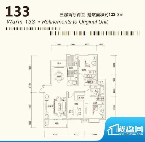 茂华国际汇户型12 面积:0.00平米