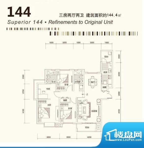 茂华国际汇户型10 面积:0.00平米