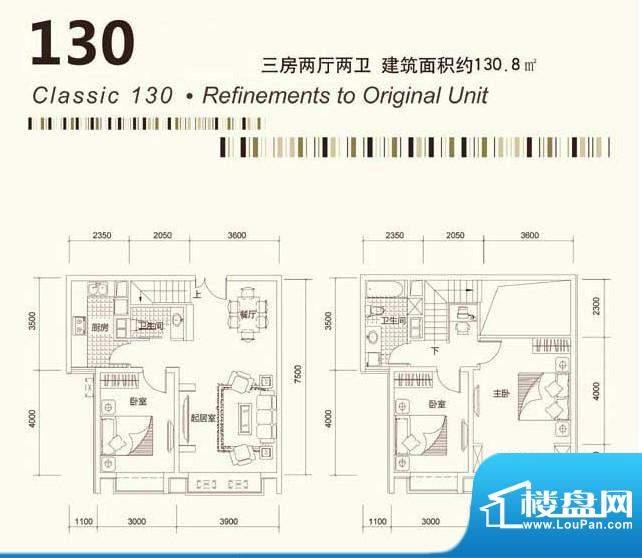 茂华国际汇户型9 面积:0.00平米