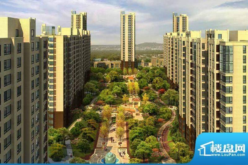 北京如意国际花园效果图