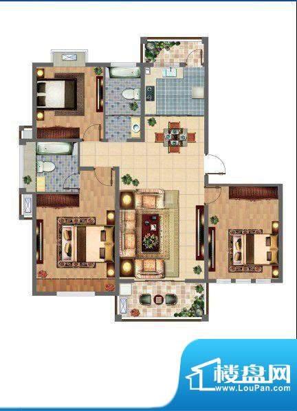 喜利达名苑户型图面积:0.00平米