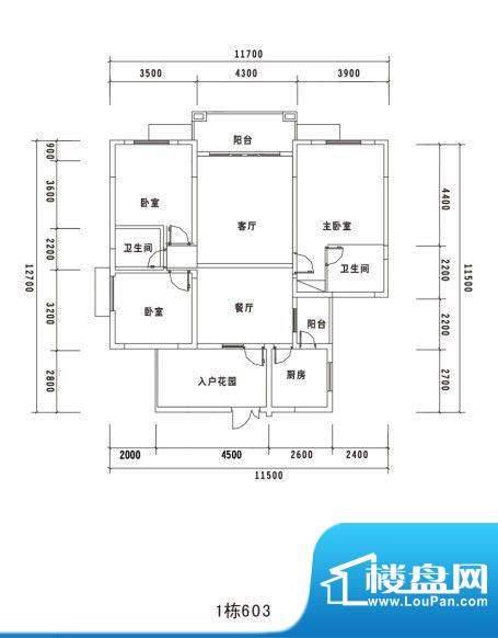 锦绣名城1栋603 面积:0.00m平米