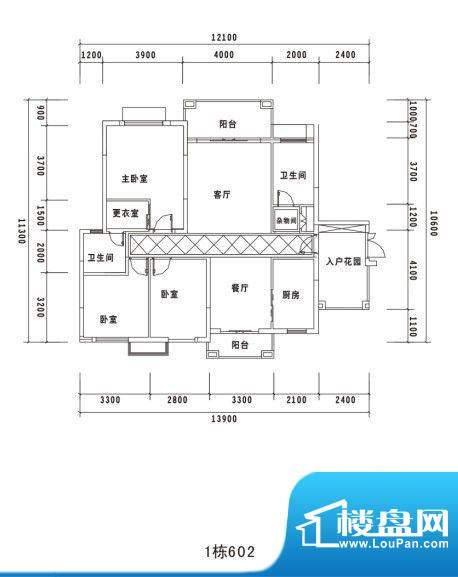 锦绣名城1栋602 面积:0.00m平米