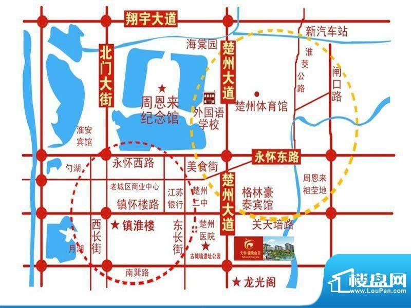 锦绣山阳交通图
