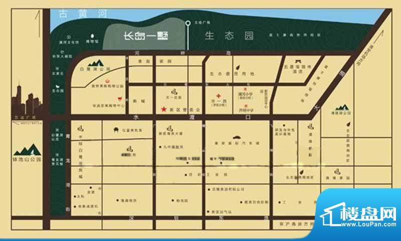 长岛一墅交通图