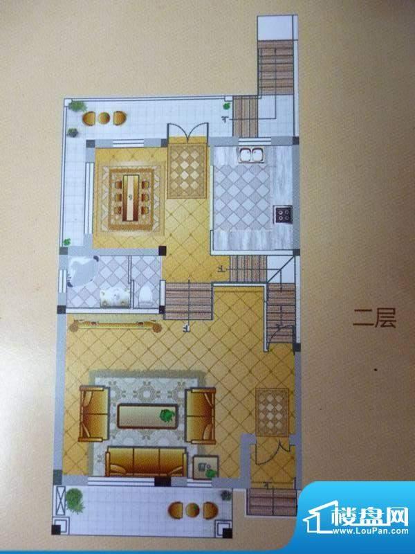 香格里拉花园别墅 二面积:0.00平米