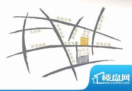 淮海第一城交通图