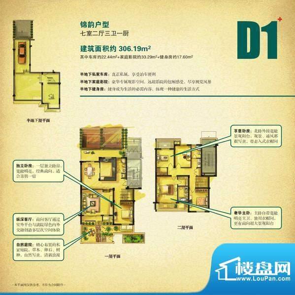 淮海第一城-户型D1面积:0.00平米