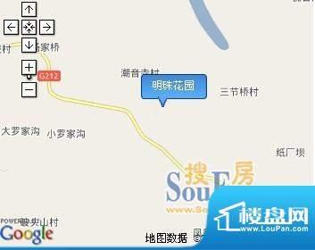 明珠花园交通图