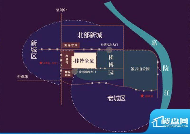 桂博豪庭交通图