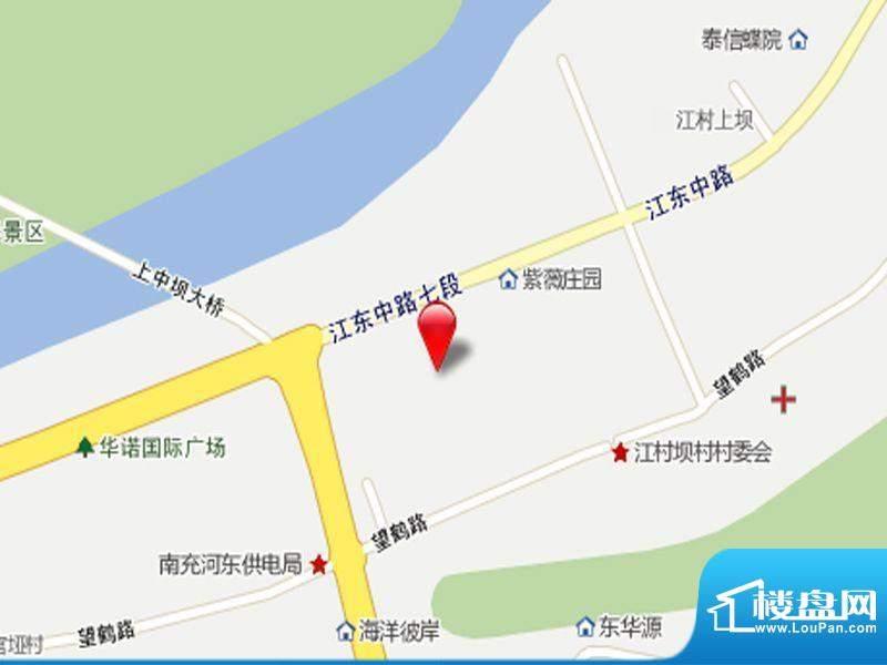 观澜尚郡二期交通图
