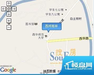 西河南岸交通图
