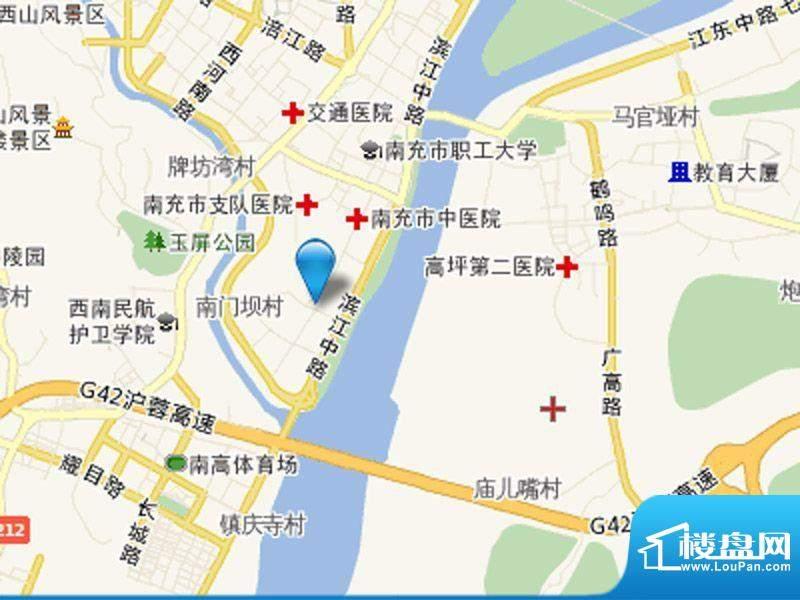 蓝光香江国际交通图