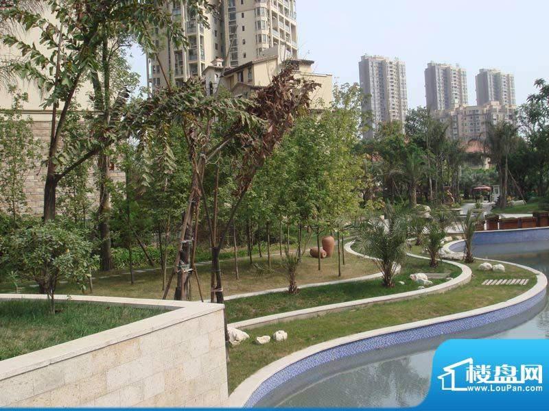蓝光香江国际小区景观