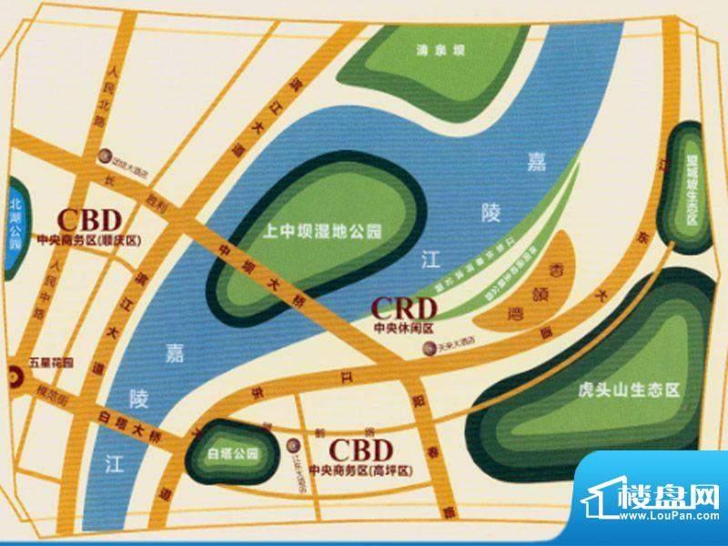 香颂湾交通图