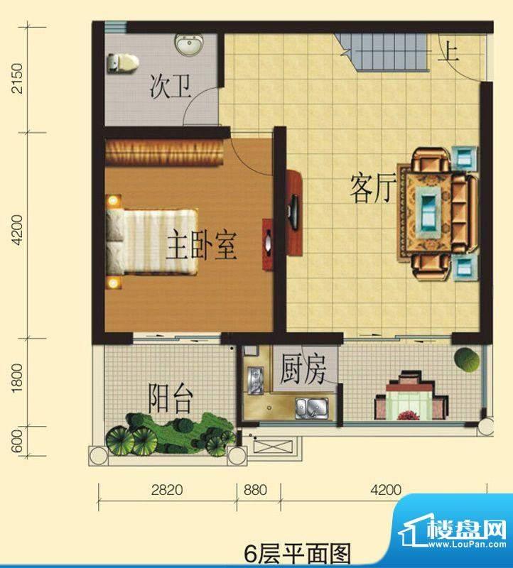 兴业香槟尚城B3 3室面积:108.30平米