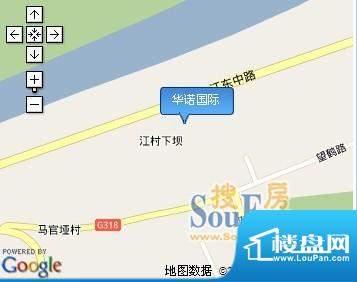 华诺国际交通图