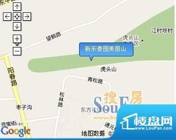 新东豪园美丽山交通图