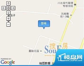 誉峰交通图