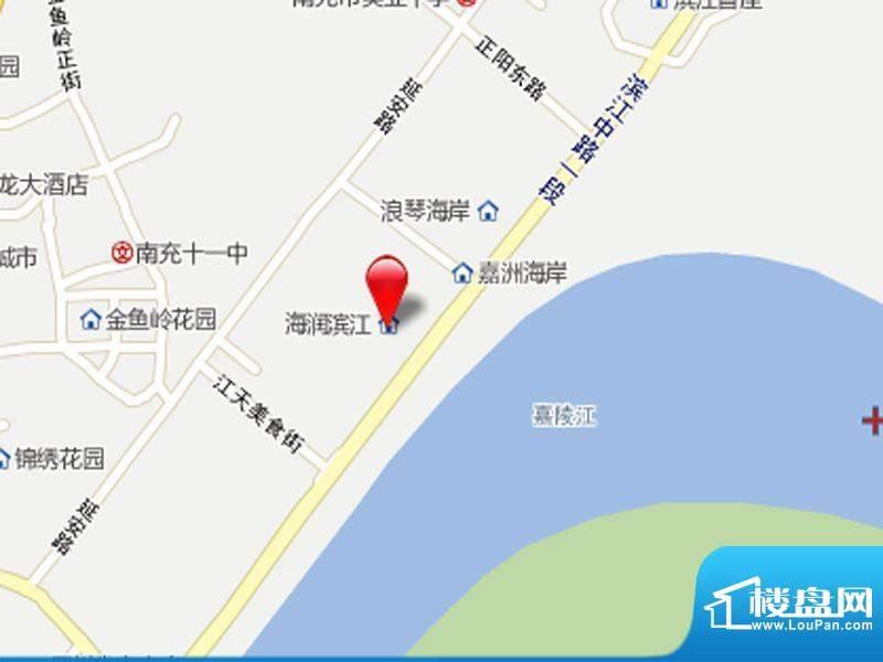 海润滨江交通图