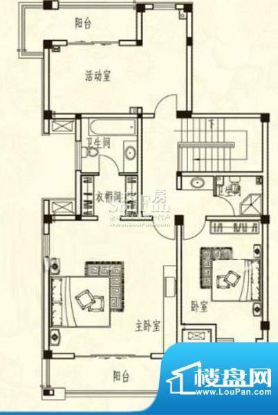 胜宏尚郡户型图二 面积:0.00m平米