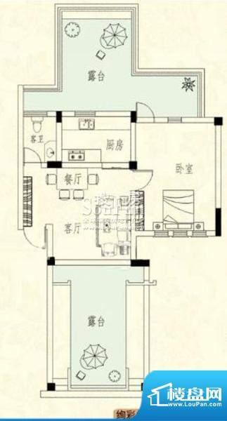 胜宏尚郡户型图三 面积:0.00m平米