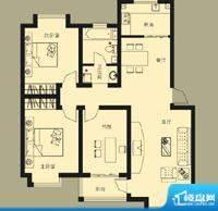 渤海御苑户型图 面积:0.00m平米