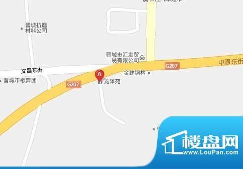 龙泽苑交通图4