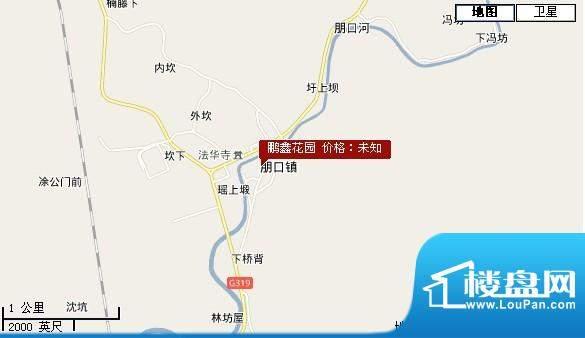 鹏鑫花园交通图