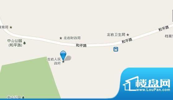 帝景豪苑交通图