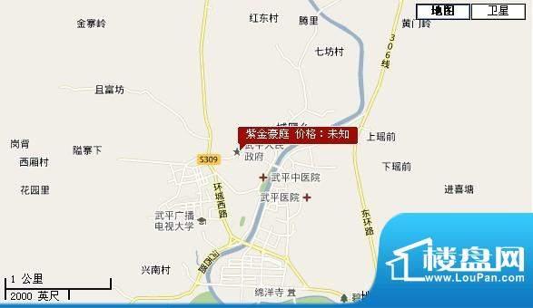 紫金豪庭交通图