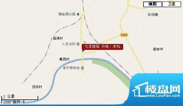 九龙桂冠交通图