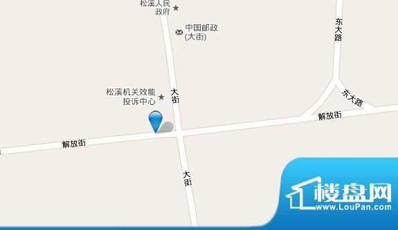 东方铭城交通图