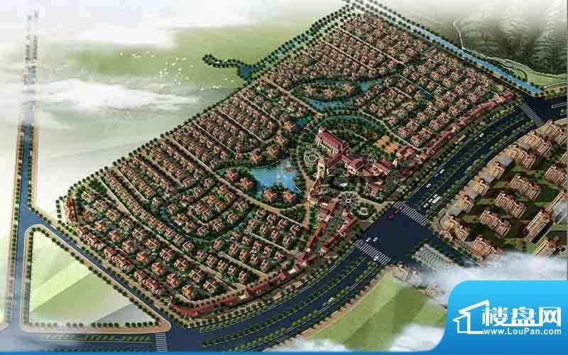 隆江新城交通图