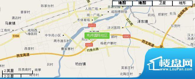 先河国际社区交通图