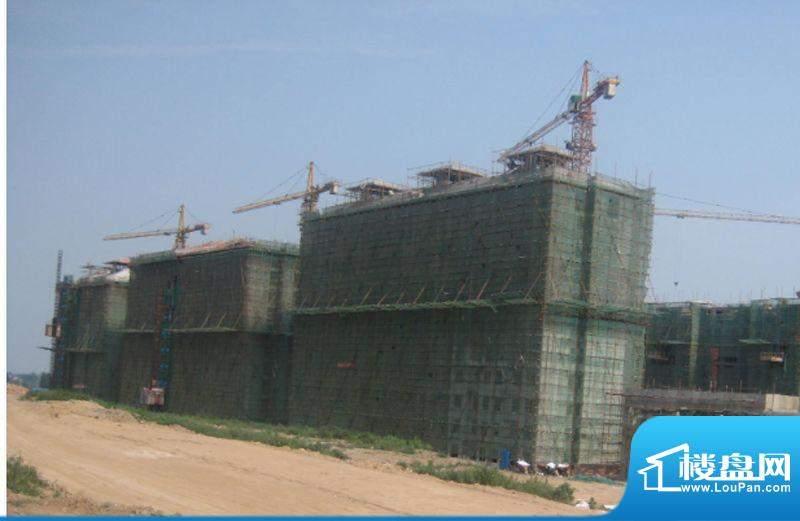瑞闽·第一城施工进度图(摄于2012年8月