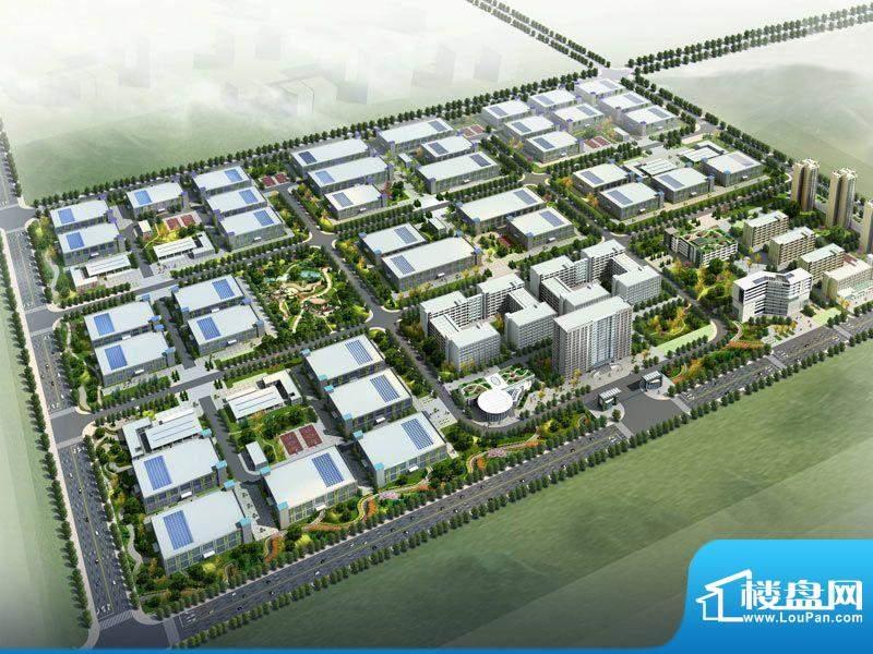 泾河新城高端制造业产业园效果图
