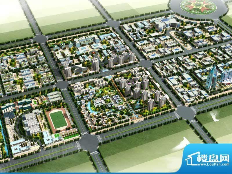 西安渭北(临潼)高端制造产业园效果图