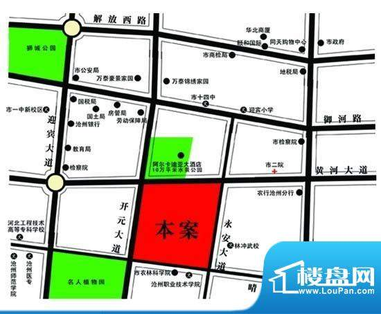 献县行政区划地图