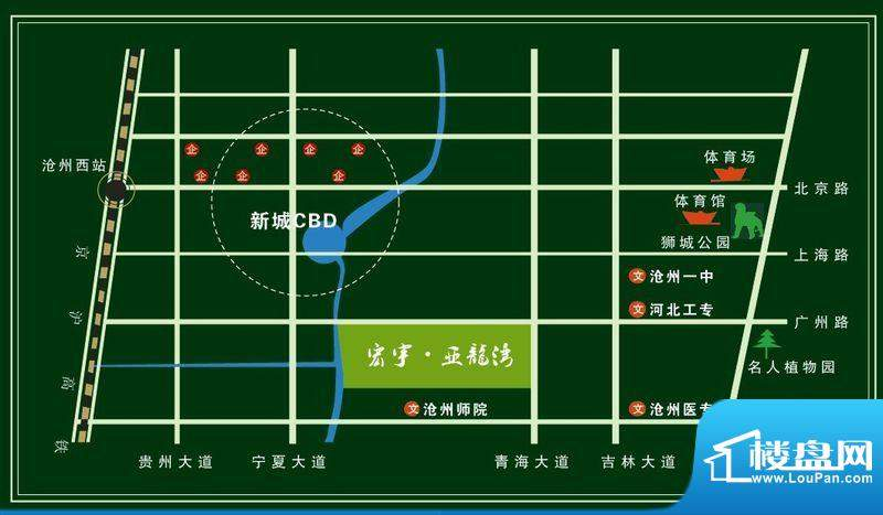 宏宇亚龙湾位置图